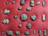 Collection of Staurolite Crystals (Fairy Crosses)